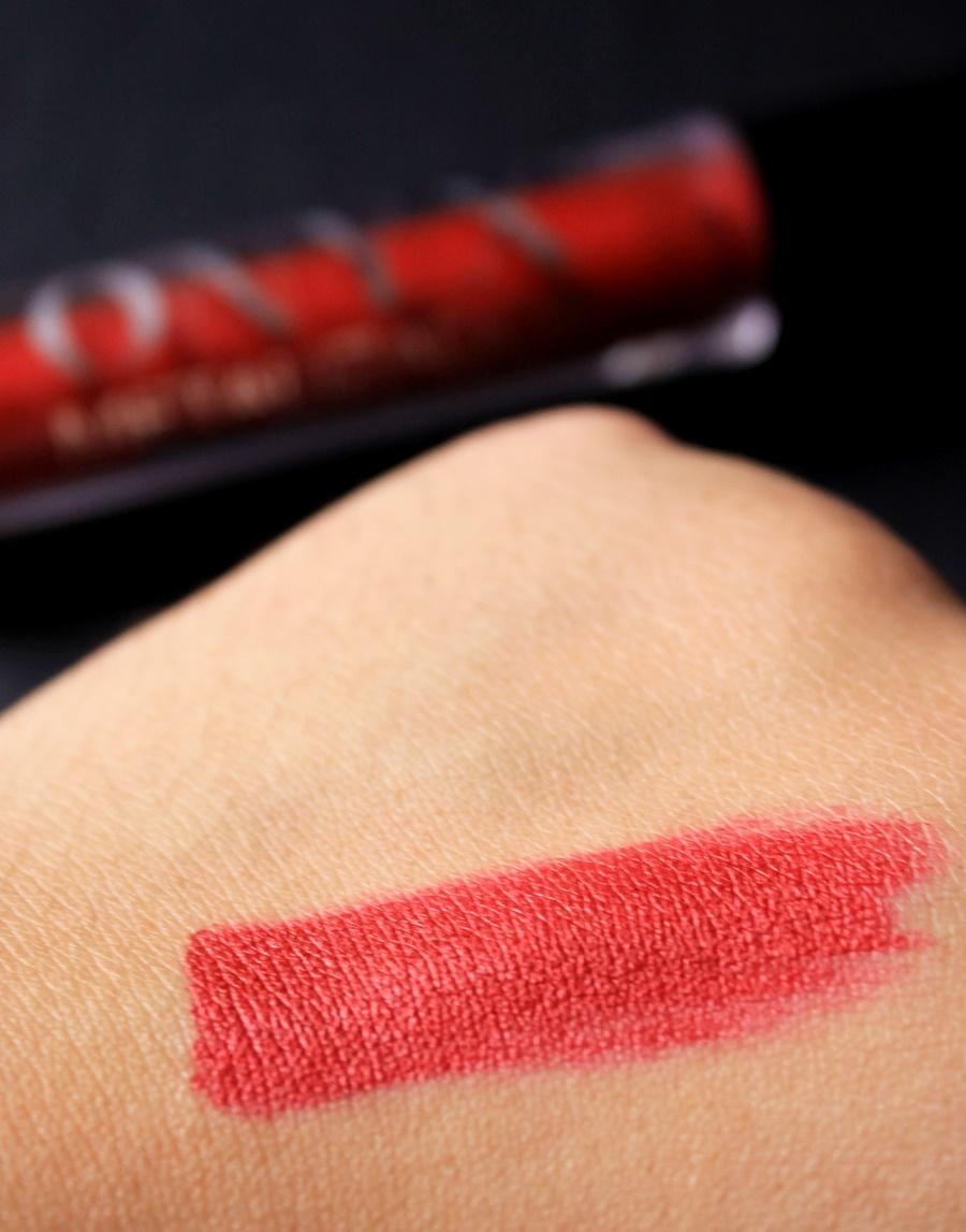 swatch vermelho metalizado onix mahav