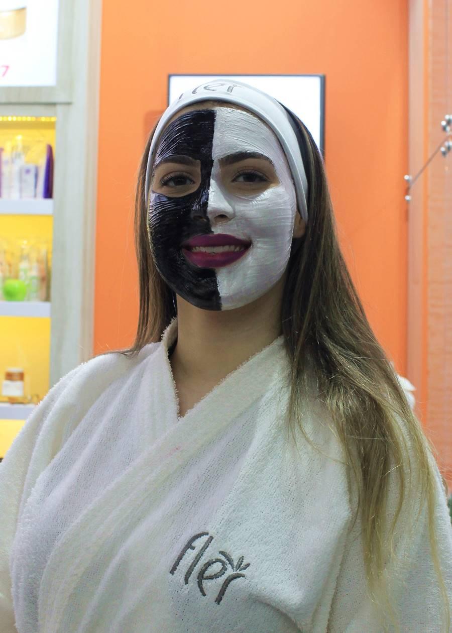 máscara ônix fler carvão ativado
