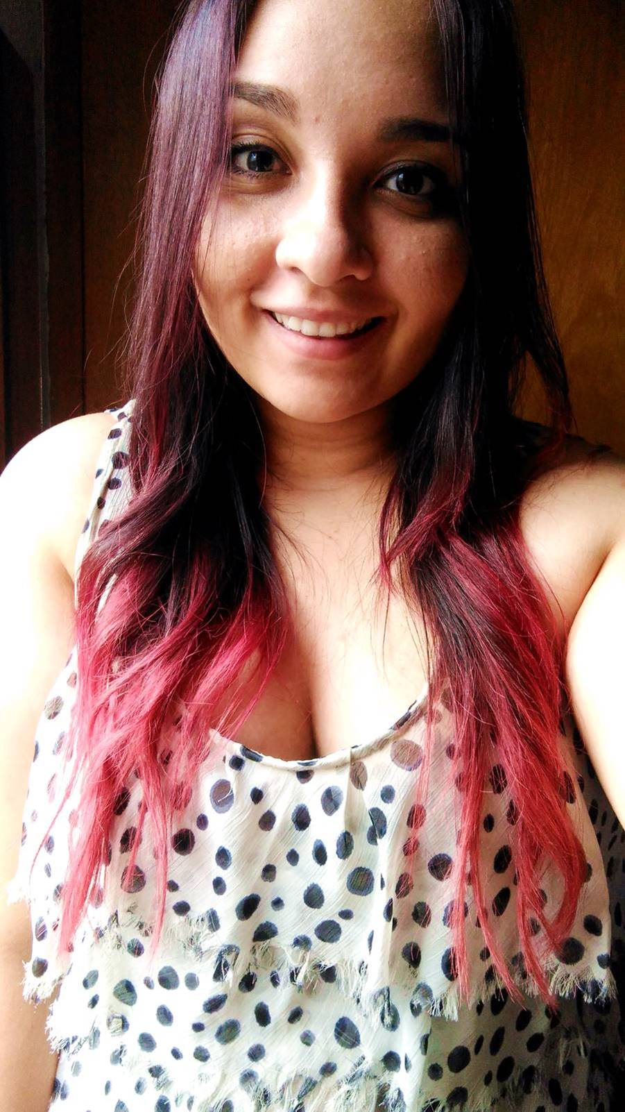 Cabelo Marsala com matizador Red 3d da Alise Hair - Carol Doria