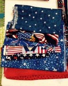 Patriotic fabric 5