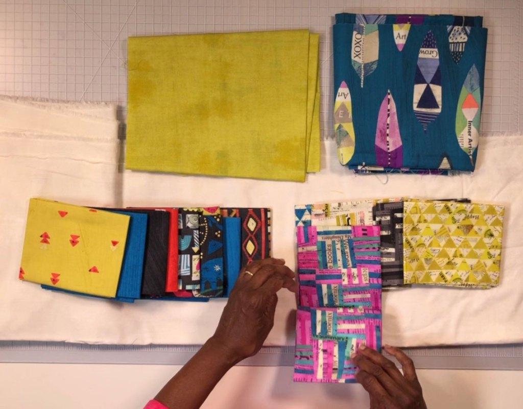 Sorting fabric!