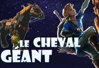 Zelda Breath of the Wild : le cheval géant !