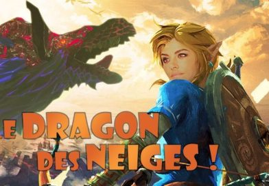 Zelda Breath of the Wild : Le dragon des neiges !