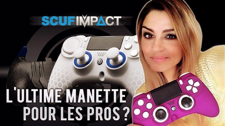 SCUF IMPACT PS4/PC : L'ultime manette pour les pros ?