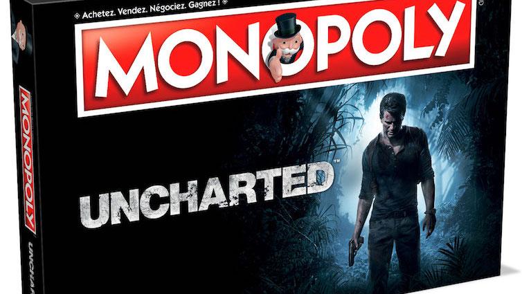 Uncharted aura droit à sa version Monopoly ! Les détails...