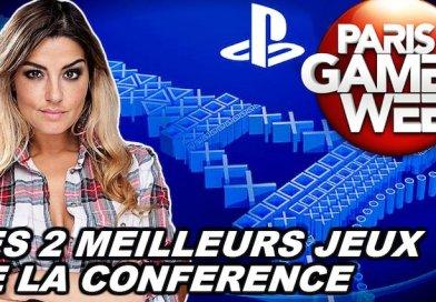 PLAYSTATION : LES DEUX MEILLEURS JEUX DE LA CONFÉRENCE PGW !