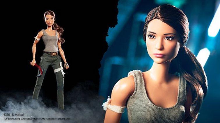 Tomb Raider : la Barbie Lara Croft se dévoile...