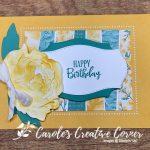 Prized Peony 3D Flower Birthday Card