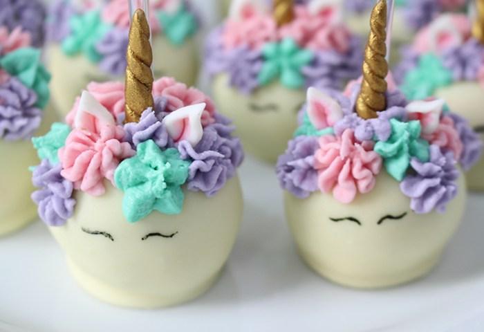 Cake Pops De Unicórnio Carol E Thaís