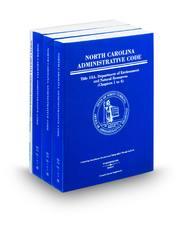 North Caroilna Administrative Code