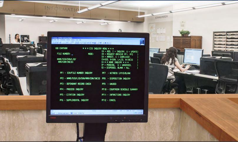 North Carolina ACIS Terminal Public Access Court Information