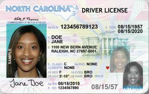 nc drivers license pic