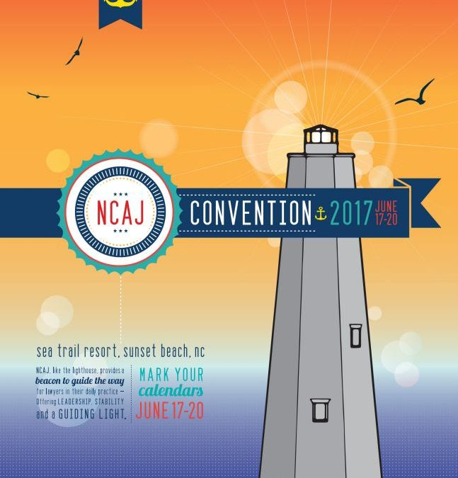 North Carolina Advocates for Justice Summer Convention 2017