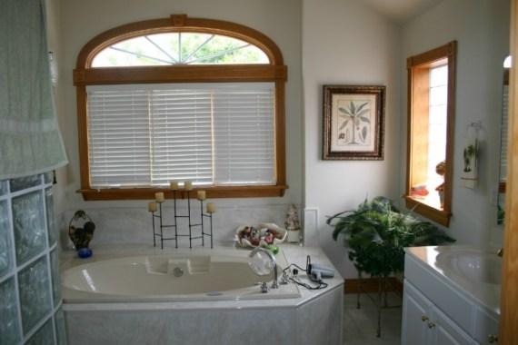 Custom interior design bathroom
