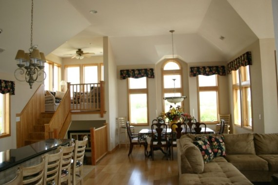 Custom interior great room designs