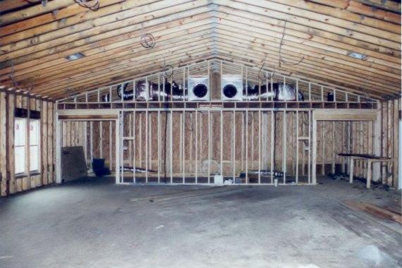 Duck United Methodist Church Fellowship Hall building framework