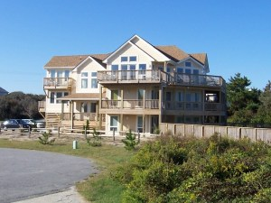 Large Outer Banks custom home construction