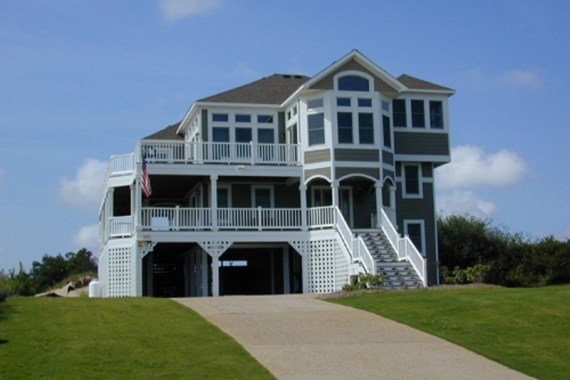 Kitty Hawk custom home built by Carolina Beach Builders