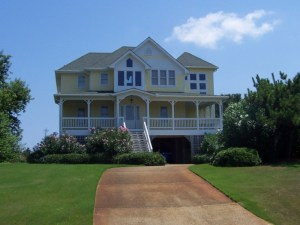 Custom home design in Kitty Hawk North Carolina