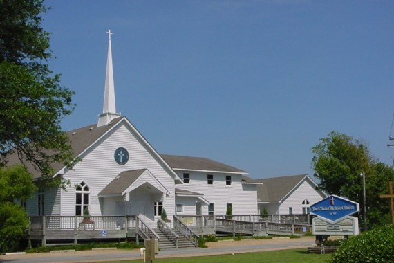 Duck United Methodist Church in North Carolina