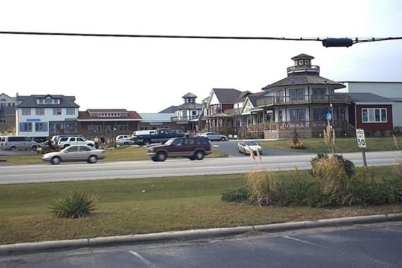 Buccaneers Walk Shops Kitty Hawk built by Carolina Beach Builders