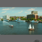 Wilmington Boats and View of Waterfront