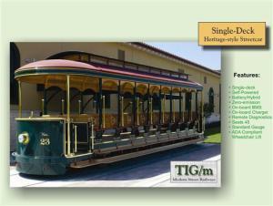 TIG/m streetcar