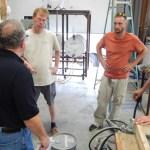 Carolina bronze AFS workshop