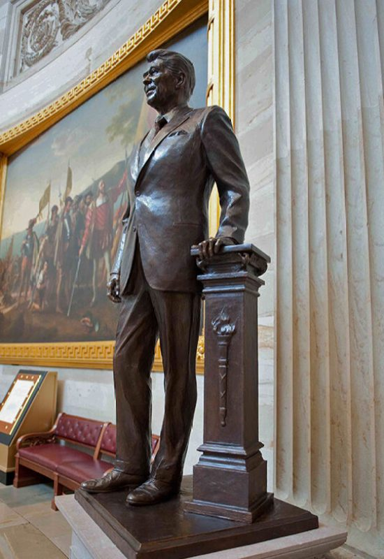Ronald Reagan, Capitol Building Rotunda, Washington, DC