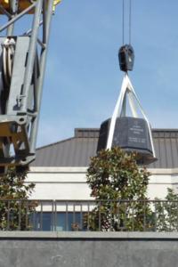 James B Duke Bronze Sculpture