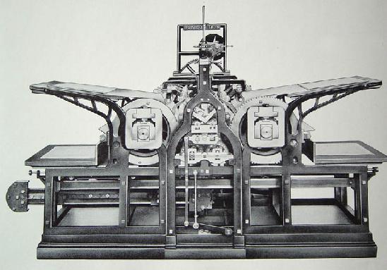 Prensa a vapor de König