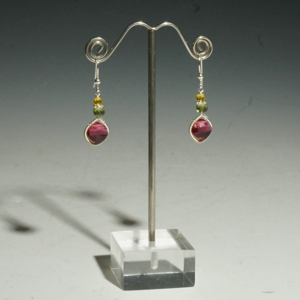 WRAPPED DANGLE EARRING