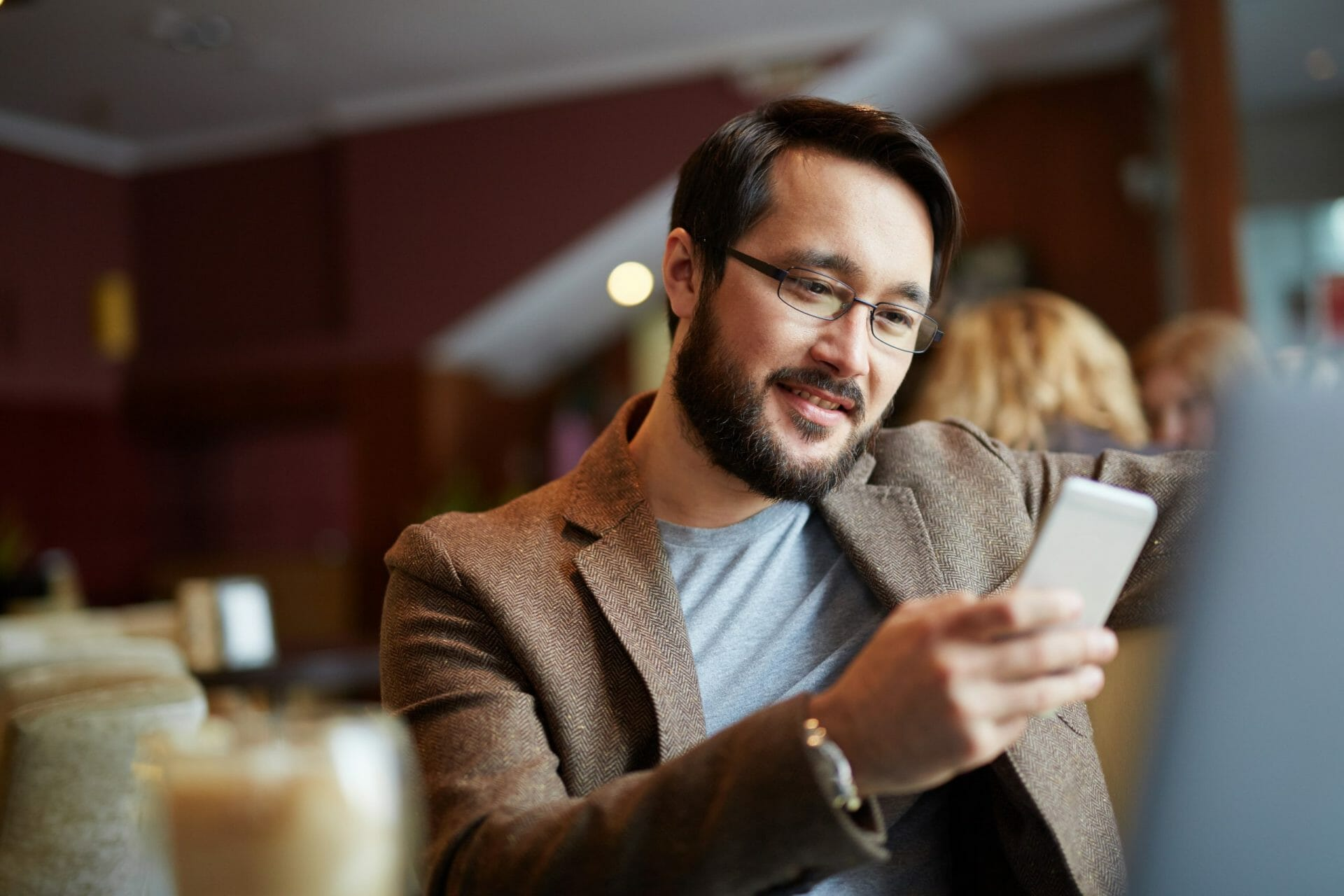 man with phone
