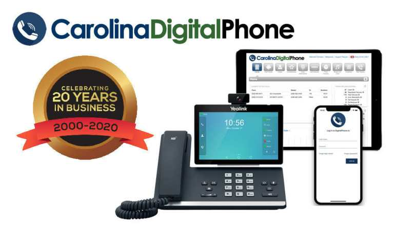 carolina digital phone 20 years