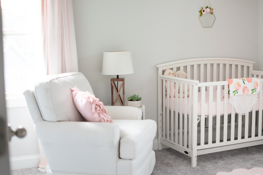 Sweet Baby Girl Nursery Carolina Fireflies A Southern Lifestyle Blog