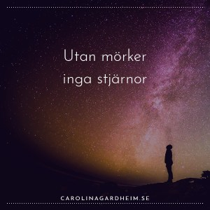 Utan mörker inga stjärnor