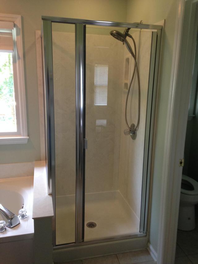 Semi Frameless Shower Doors Raleigh NC