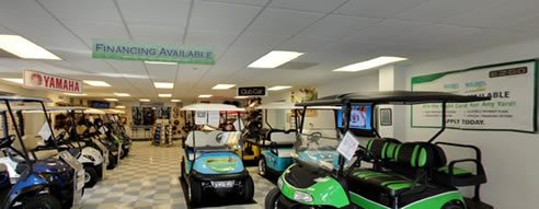 Carolina Golf Cars Showroom