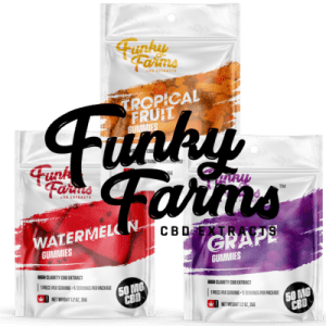 We have the Flavor! The Funky Farms CBD Gummies Are Full of Flavor