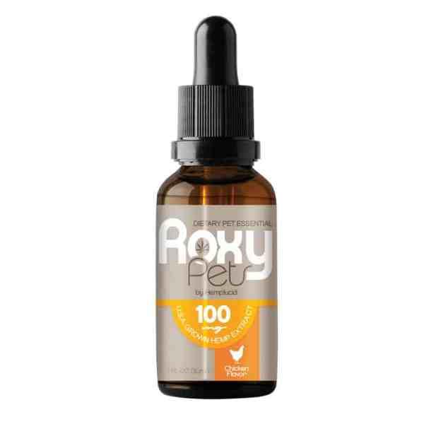 ROXY PETS FOR DOGS 100 mg with CBD
