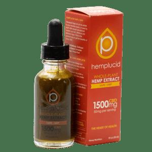 HempLucid Tincture: Vape/Drip with Full Spectrum Cannabinoids (CBD) in each bottle!