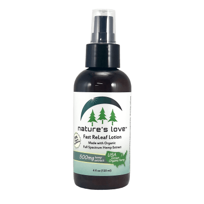 Fast ReLeaf Hemp Oil Extract Lotion