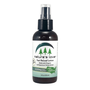 Carolina Hemp Hut offers Nature's Love Soothing Lotion with Full Spectrum CBD Releaf