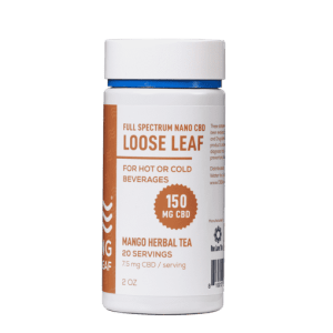 CBD Living Loose Leaf Mango Herbal Tea