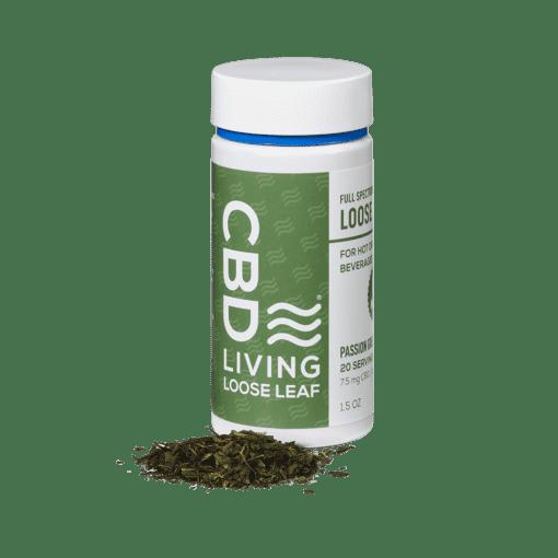 CBD Living Passion Green Tea Loose Leaf