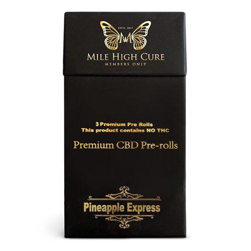 Mile High Cure CBD Pre Roll