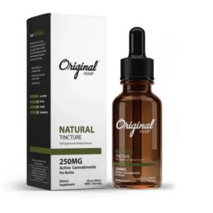 CBD from Original Hemp in Natural formula