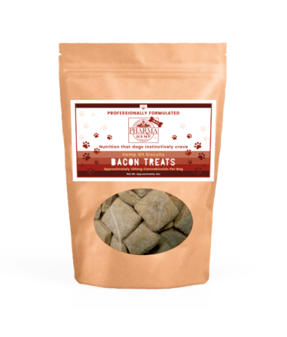 CBD Oil Bacon Dog Biscuits