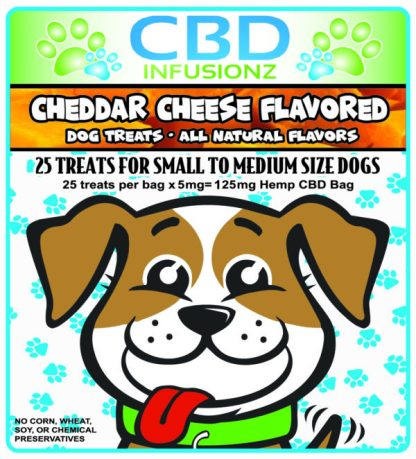 CBD Dog Treats Cheddar Cheese