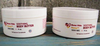 Bona Vida Hemp CBD Body Butter